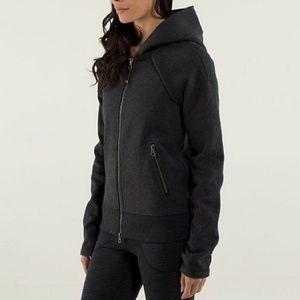 Lululemon Gray Hooded Jacket Size 6